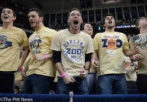 Fans will pack the Oakland Zoo for Pitt men's basketball's home opener at the Petersen Events Center Nov. 11.