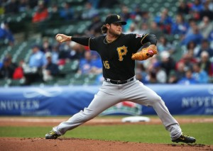 Pirates pitcher Gerrit Cole went the distance for his first complete game victory against the Mariners Wednesday night. (TNS)