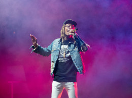 Wiz Khalifa performed for #ZooAfterHours Friday night.   Jeff Ahearn / Assistant Visual Editor