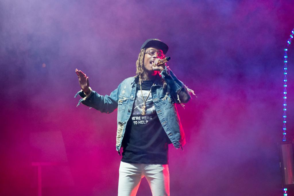 Wiz Khalifa performed for #ZooAfterHours Friday night. | Jeff Ahearn / Assistant Visual Editor