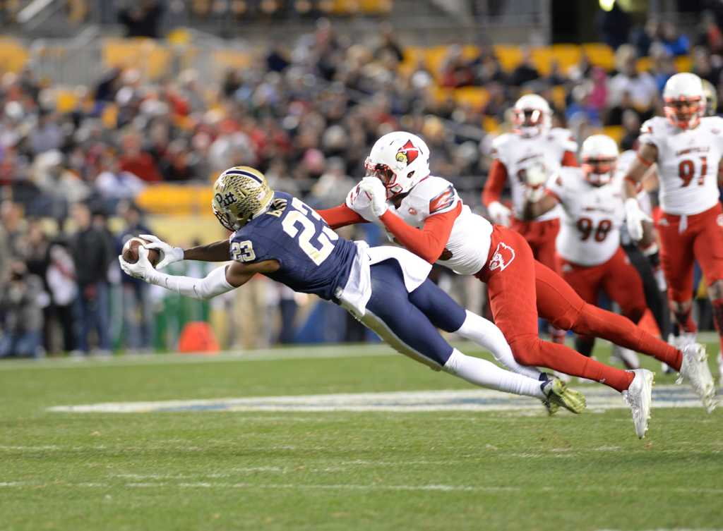Pitt Football vs. Louisville 11/21/15