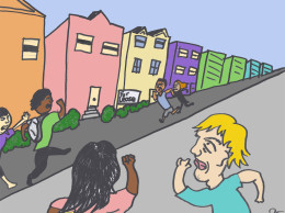 Students rush to secure housing.  Jack Trainor | Culture Editor