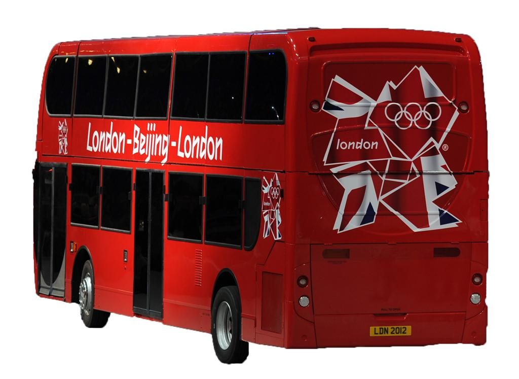 Double-decker buses are typical modes of transport for Londoners.  (George Bridges/MCT)