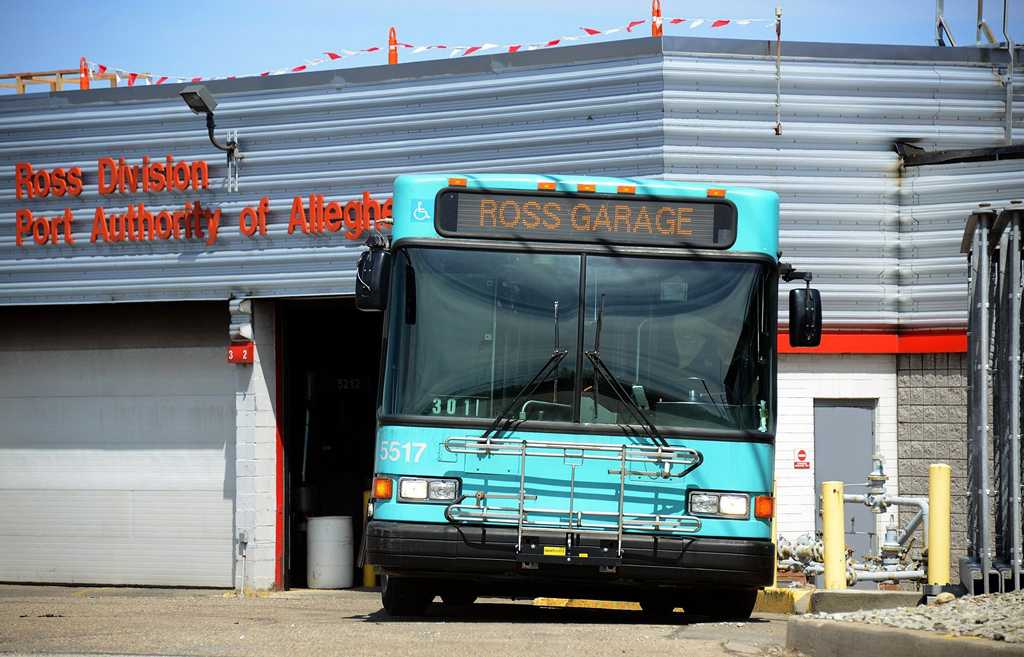 Port Authority will begin reducing underused bus stops to improve efficiency.  (Lake Fong/Pittsburgh Post-Gazette/MCT)
