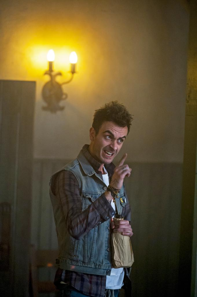 "Joe Gilgun as Cassidy in ""Preacher"" (Lewis Jacobs/Sony Pictures Televsion/AMC/TNS)"