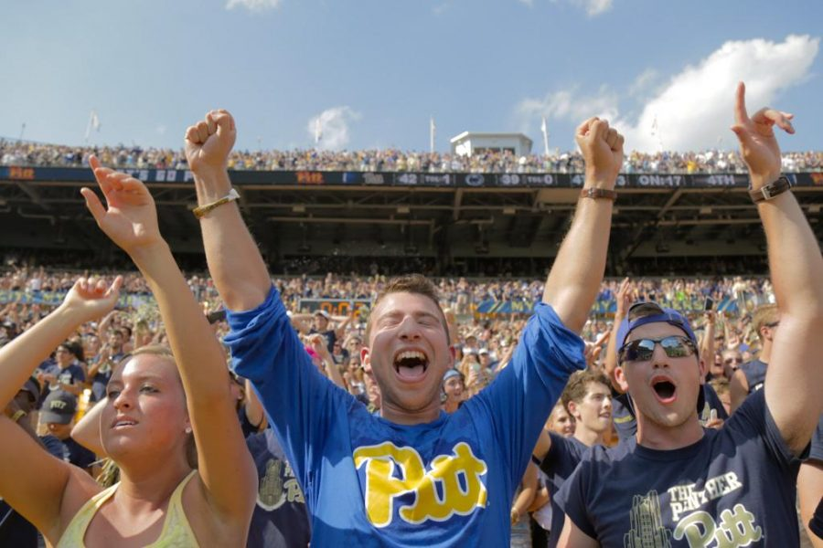 Starting Pitt holds off Penn State comeback