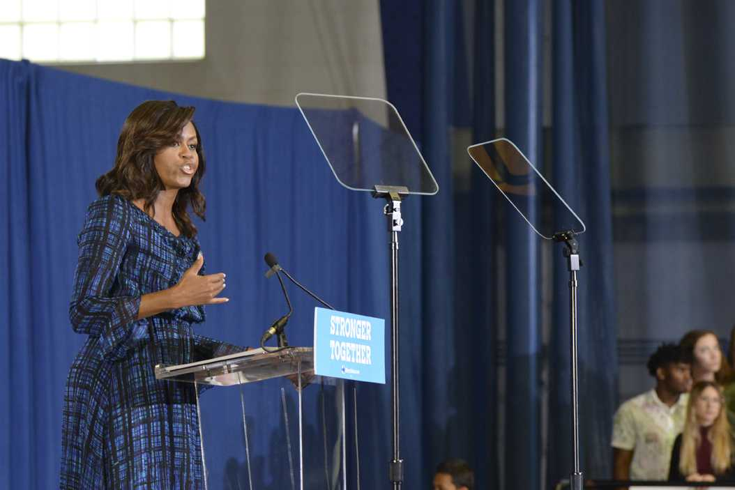 GALLERY: First Lady Obama Visits Pitt