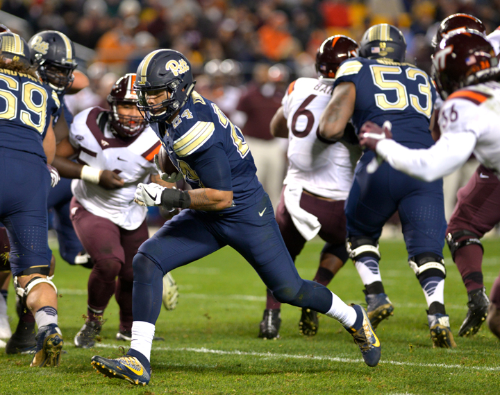 #25 Virginia Tech-Pittsburgh: NCAAF On ESPN3 - October 27