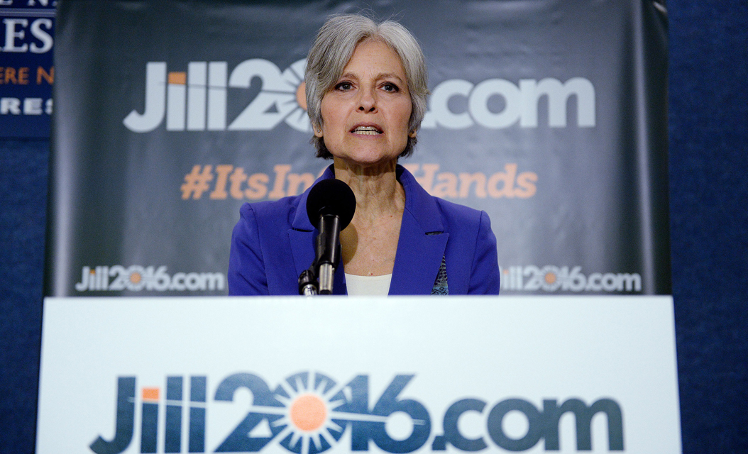 Jill Stein, the Green Party's nominee for president, will visit Pittsburgh on Nov. 1. TNS