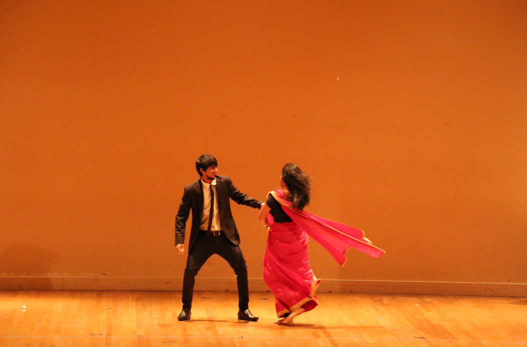 ANKUR-IGSA, Pitt's Indian Graduate Student Association, hosted the Diwali celebration, which included performances showing traditional and contemporary Indian song and dance. Rebecca Peters | Staff Writer