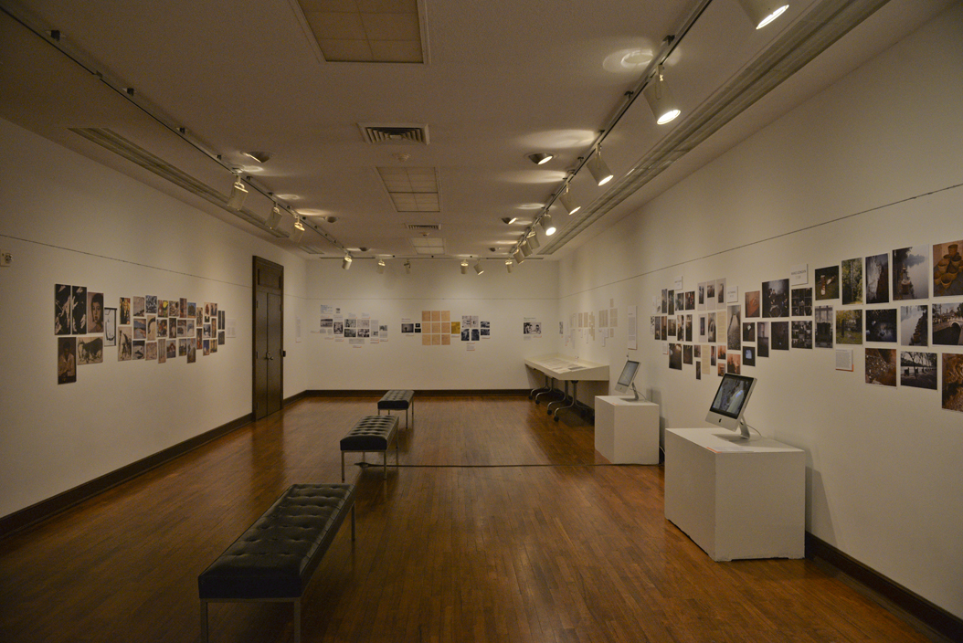 The University of Pittsburgh Art Gallery, located in the Frick Fine Arts Building, will show two concurrent exhibitions through Dec. 9. Katie Krater | Staff Photographer