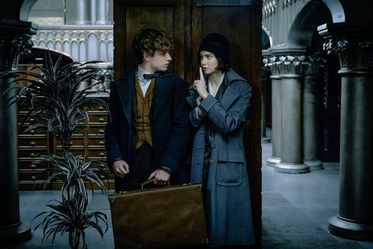 "Eddie Redmayne stars in the newest edition of the Harry Potter franchise, ""Fantastic Beasts and Where to Find Them."" TNS"