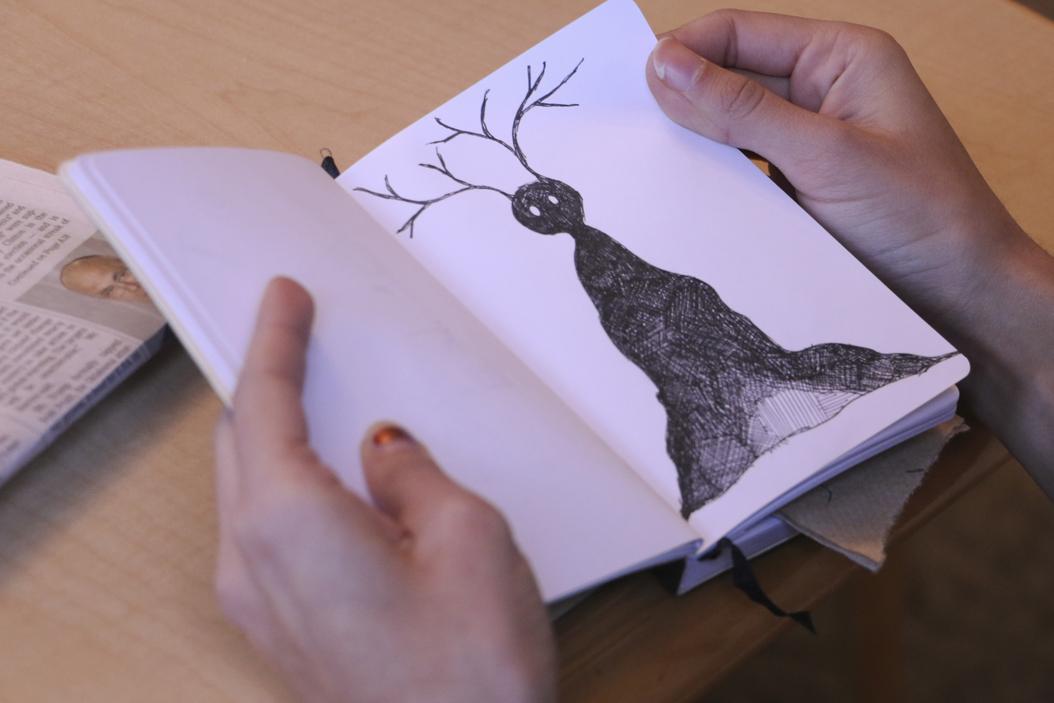 One of Harpreet Bassi's insomnia-fueled drawings   Jordan Mondell   Assistant Visual Editor
