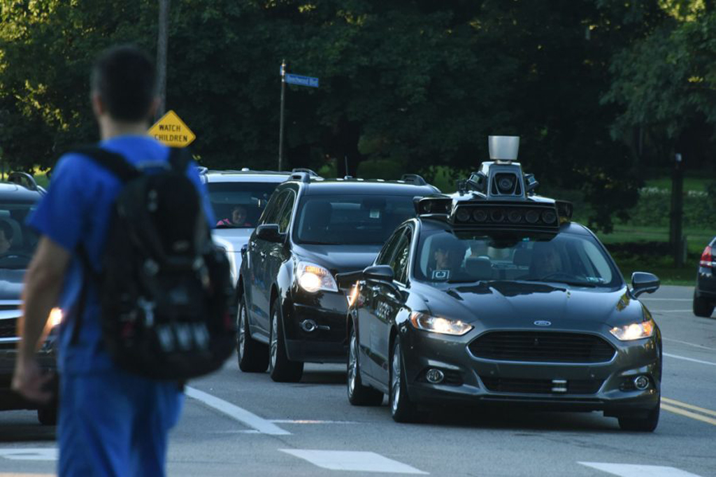 Pittsburgh is becoming a testing site for autonomous vehicles. Darrell Sapp/Pittsburgh Post-Gazette/TNS