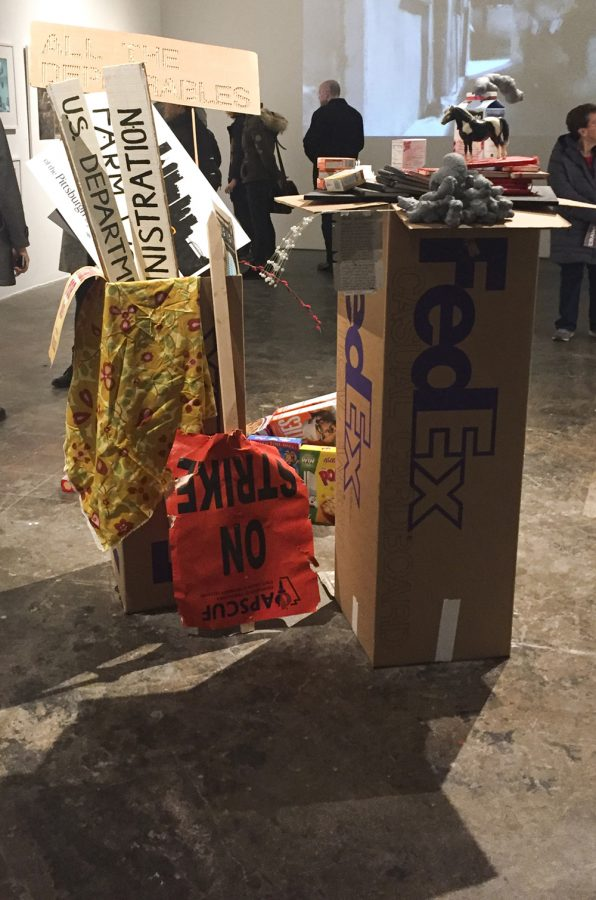 """This installation was part of """"The Domesticity of Abandonment,"""" curated by Carolina Loyola-Garcia. 