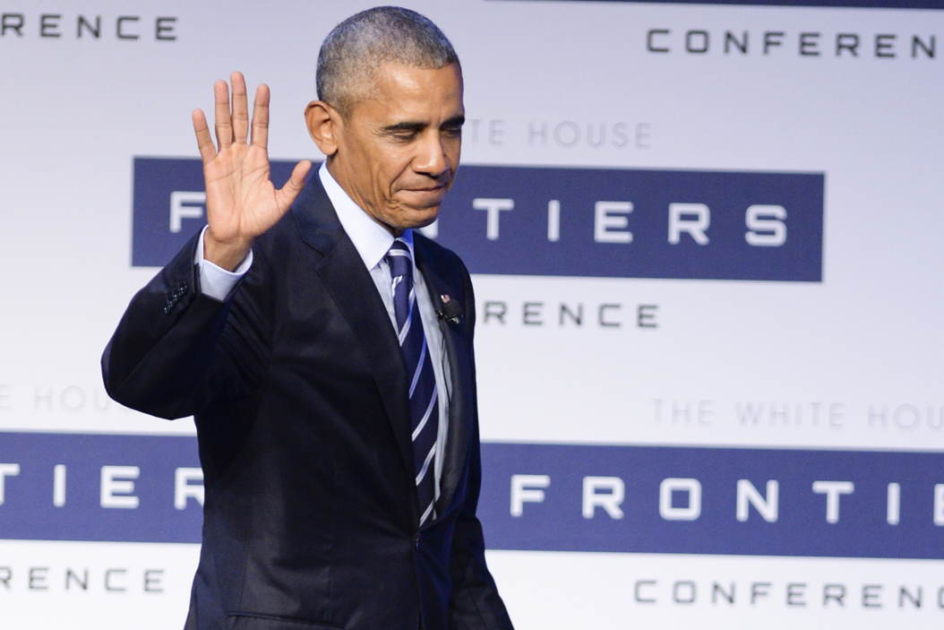 President Barack Obama leaves the stage after speaking at The White House Frontiers at Carnagie Mellon University in October. Jordan Mondell | Contributing Editor