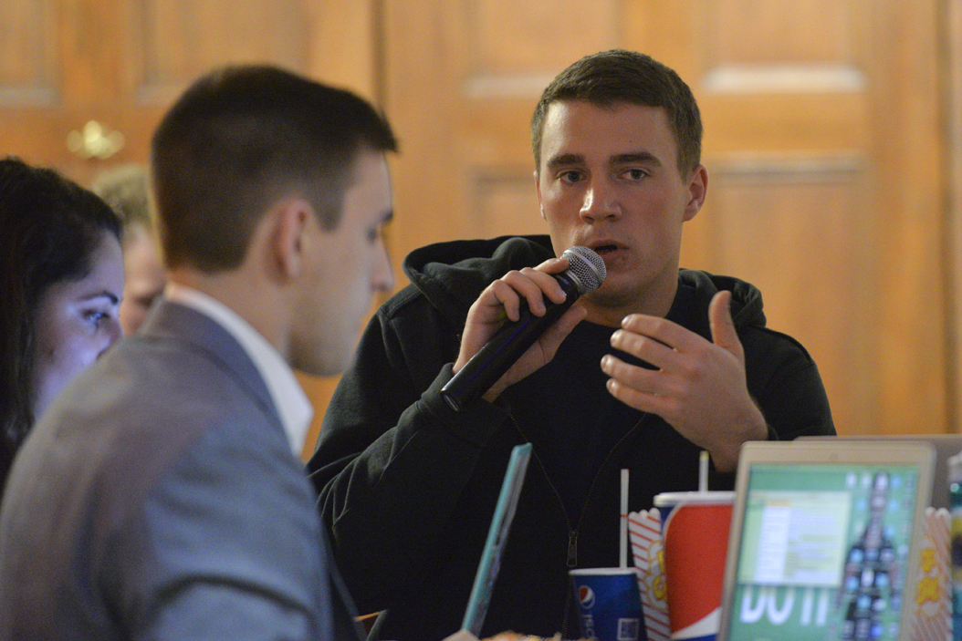SGB proposes another resolution about making Pitt a tobacco and smoke-free campus. Will Miller | Senior Staff Photographer