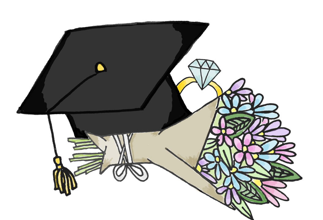 Several students across the country try to get engaged by the spring of their senior year of college. Jordan Mondell | Contributing Editor