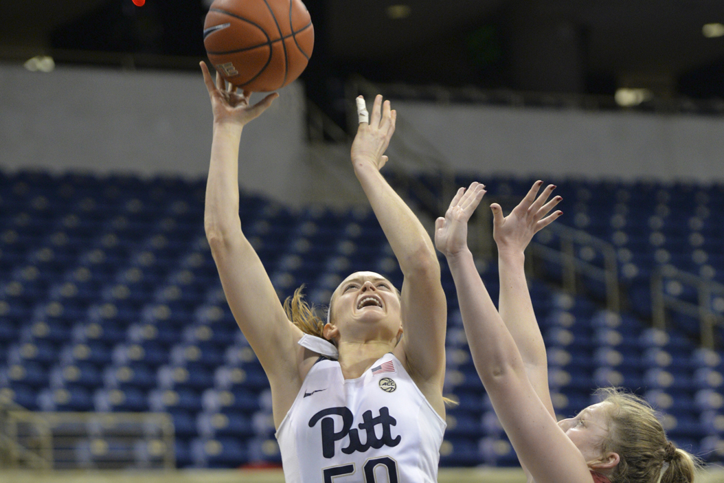 Pitt sophomore forward Brenna Wise scored 23 points in a 79-48 loss vs. Florida State on Thursday. John Hamilton | Visual Editor