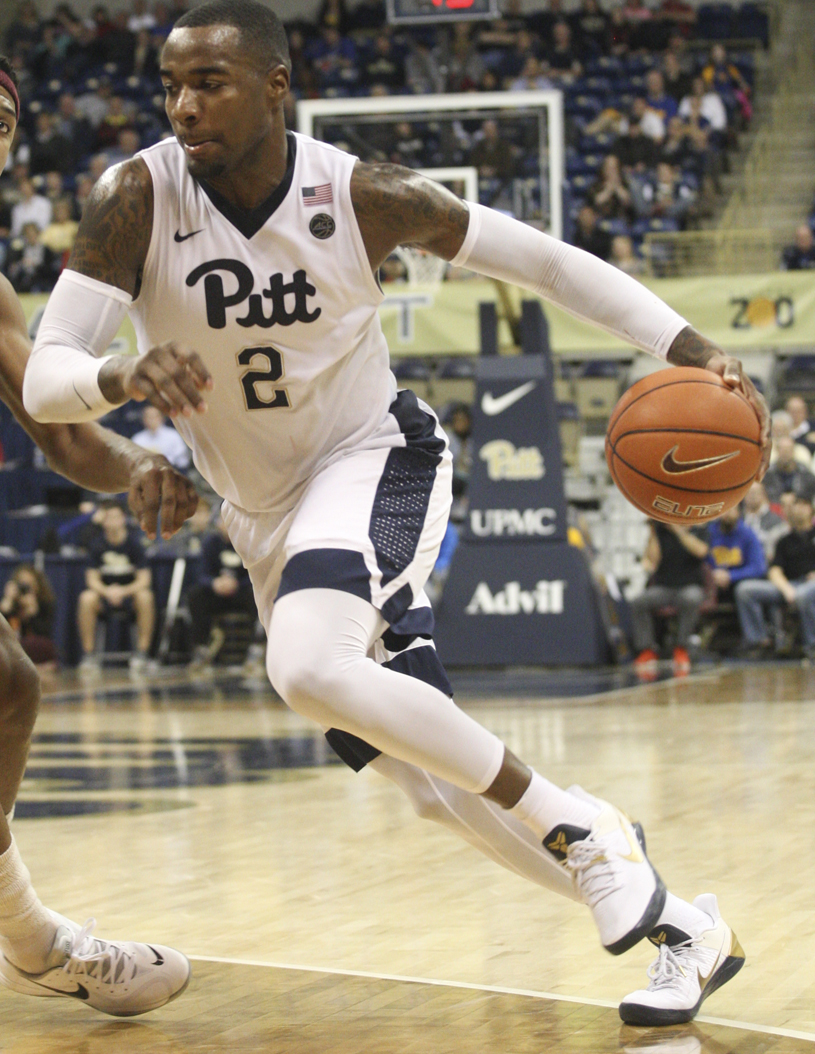 Pitt senior forward Michael Young scored 24 points in Pitt's 63-59 defeat at Wake Forest, but had to sit for much of the second half with four fouls. TPN File Photo