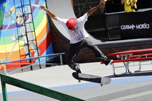 Skateboarding, hip-hop foster artistic expression similarly