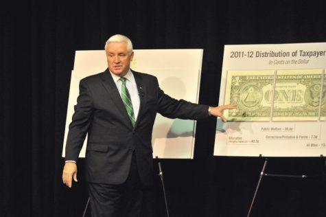 Corbett proposes budget