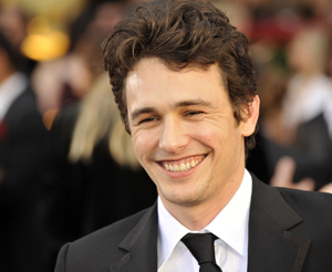 James Franco has fun with his public image