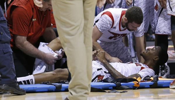 Saul: Ware's injury inspires Louisville to Elite Eight victory over Duke