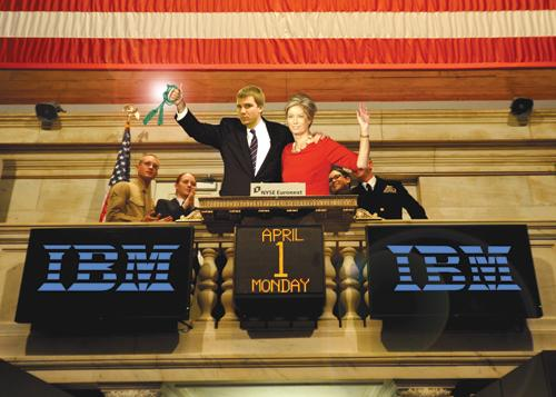 Pitt student named CEO of IBM after completing OCC