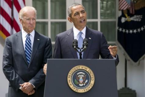 President Barack Obama Delivers Statement On Syria