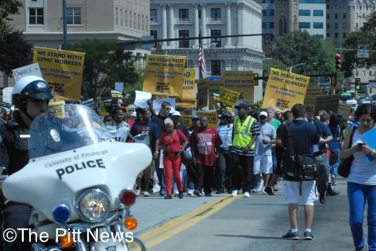 UPMC+Workers+Rally
