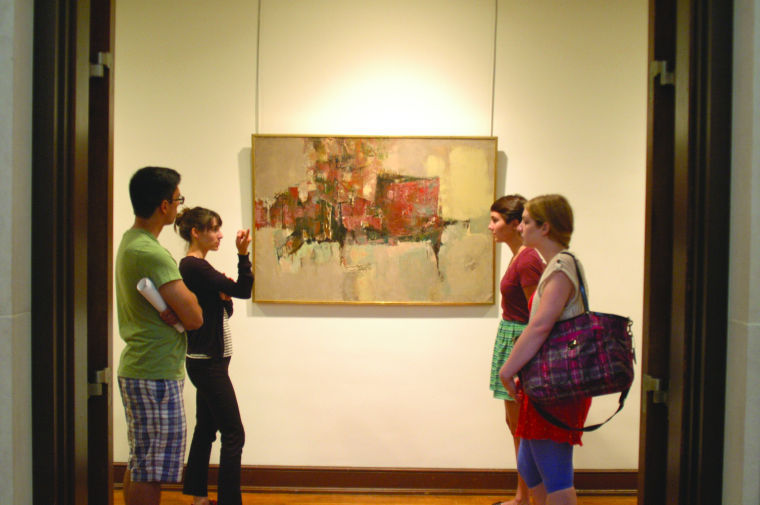 University Art Gallery rediscovers its own collection in new exhibit