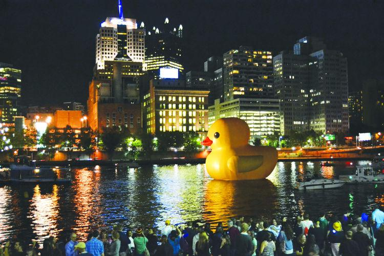 Rubber duck impacts local business