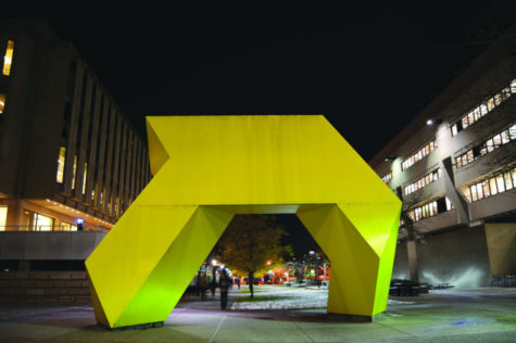 It's not a giraffe: the truth about Pitt's mystery sculpture