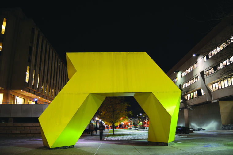 It's not a giraffe: the truth about Pitt's mystery sculpture