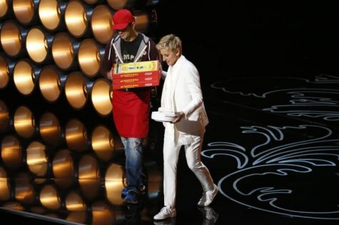 Ellen Degeneres puts a human touch on the Oscars