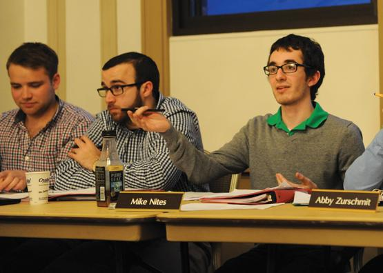 Board goes public with student groups budget appeals