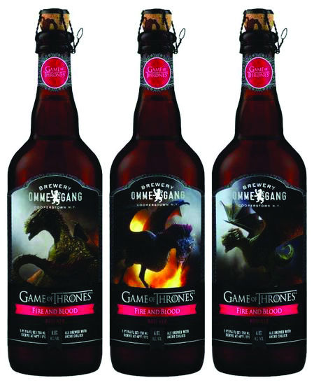 'Game of Thrones'-themed beer provides fiery spice