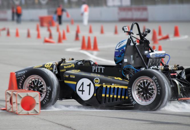 Faster than a Ferrari: student-built car gears up for last race
