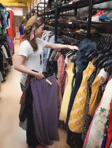 Thrift stores a cheaper way to update your wardrobe