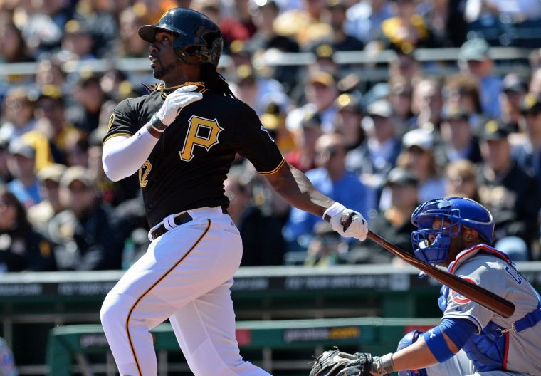 Andrew+McCutchen+%2822%29+batted+20+runs+for+the+Pittsburgh+Pirates+in+September.+Matt+Hawley+%7C+Staff+Photographer