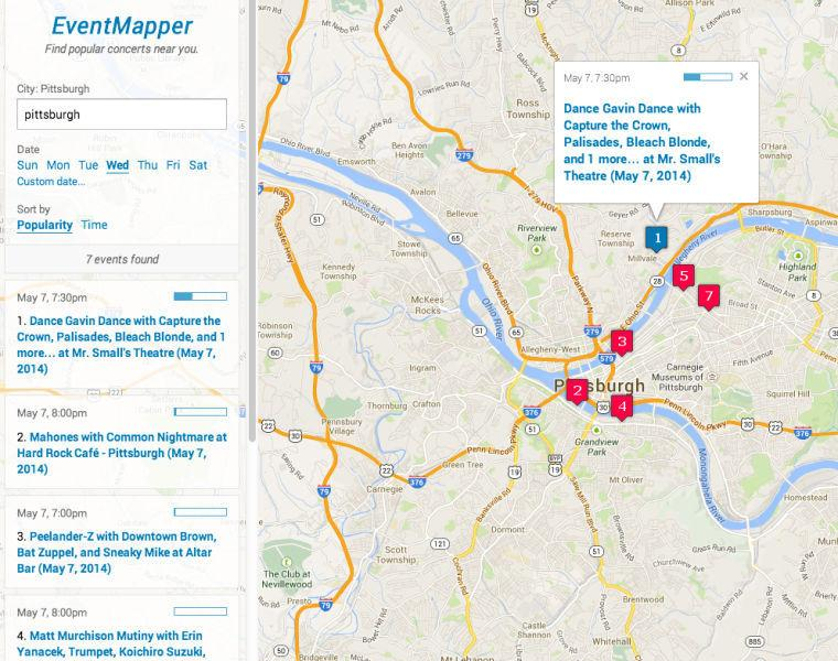 CMU grad's website a new way to find concerts