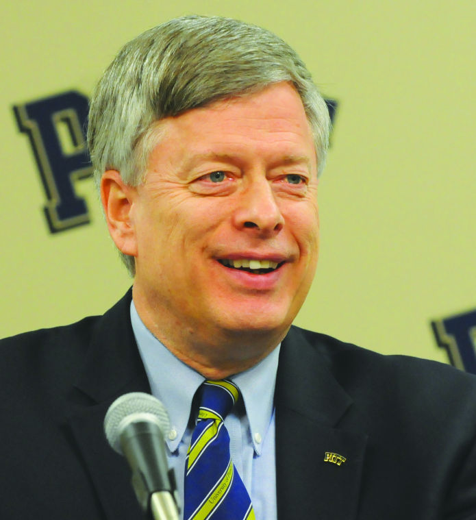 Not so fast: Nordenberg to remain at Pitt in new role