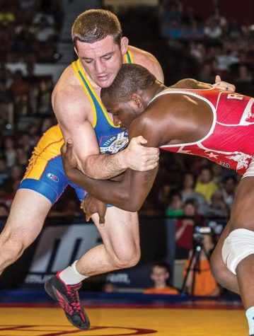 Wrestling: Gavin, Zanetta fall just short at USA Team Trials