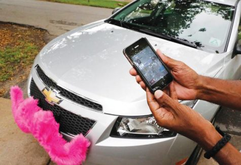upstart car services, taxi industry clash
