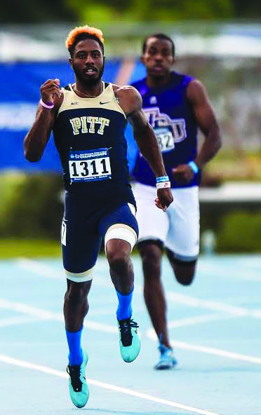 Track and Field: Spratling runs in a Pitt uniform for the last time