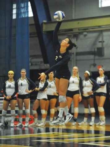 Feature: Senior volleyball player reps Pitt on national level