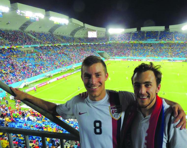 Feature: Recent graduates experience the beautiful game in Brazil