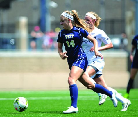 Arvas and Hannesdottir score to push Pitt past Robert Morris