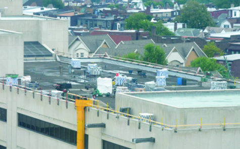 Welcome Back: Posvar's new roof to reduce Pitt's pollution